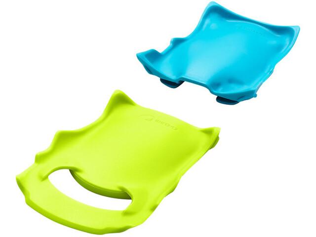 Edelrid Anti Beast Lite Anti-bot, verde/azul